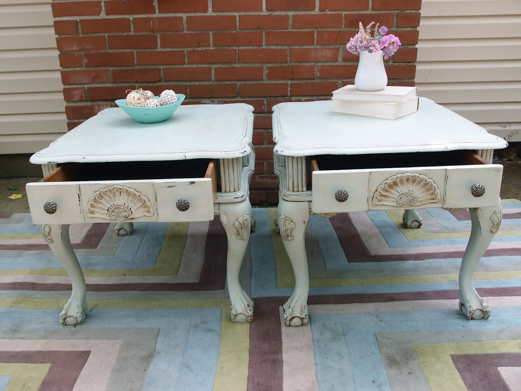 Claw Foot End Tables