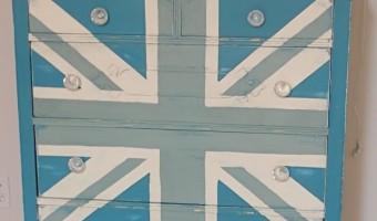 Craigslist find turned Union Jack