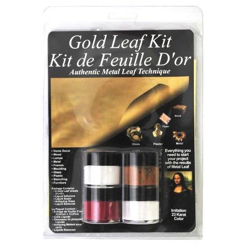Gold Leaf Framed Chalkboard - Shades of Blue Interiors