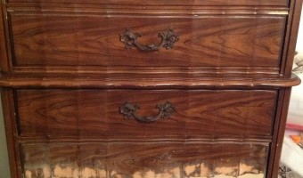 French Provencal Highboy & a Chalk Paint Giveaway