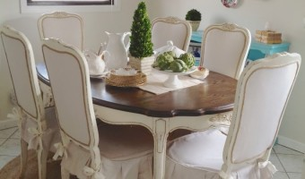 Dining Set Redo and a Winner!