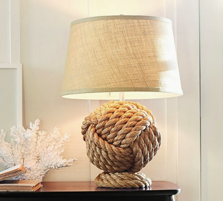 Nautical Lamp Tutorial A Jute Twine Makeover Shades Of