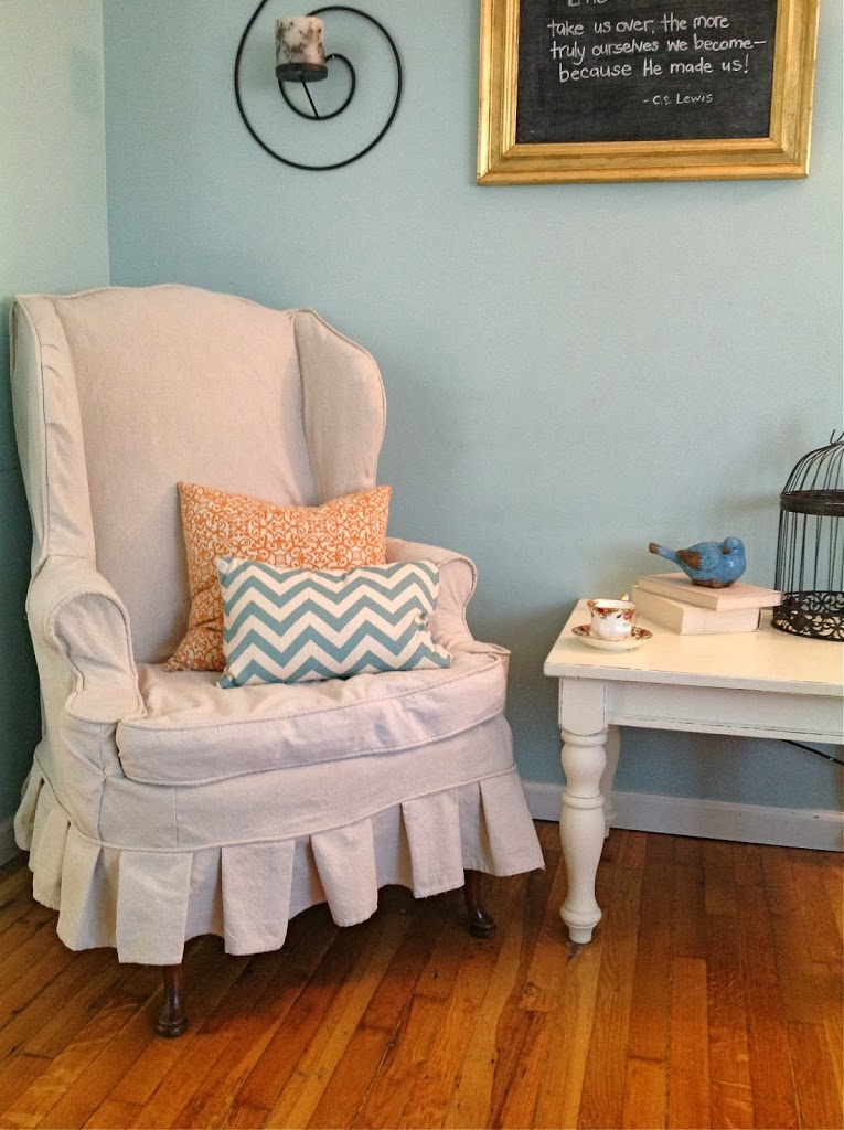 wing chair slipcover not t cushion custom slipcovers by shelley