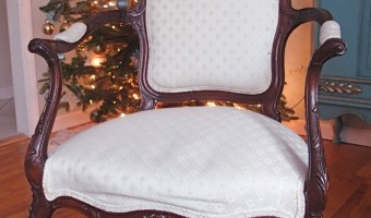 Stripping, Repairing, and Upholstering a French Chair, Part 1