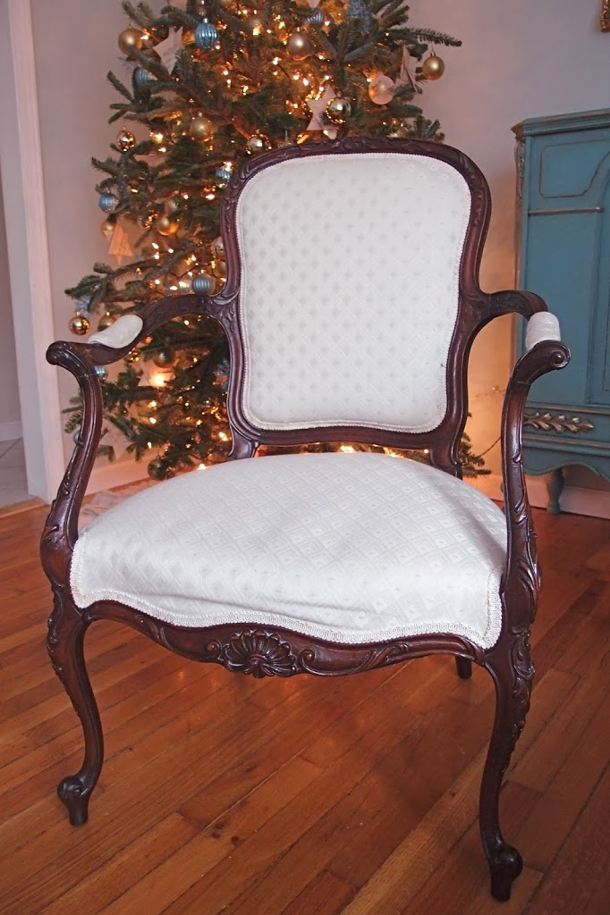 Stripping Repairing And Upholstering A French Chair