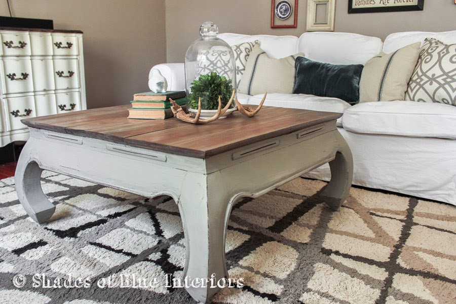 Makeover Monday I Mean Wednesday Weathered Gray Coffee Table