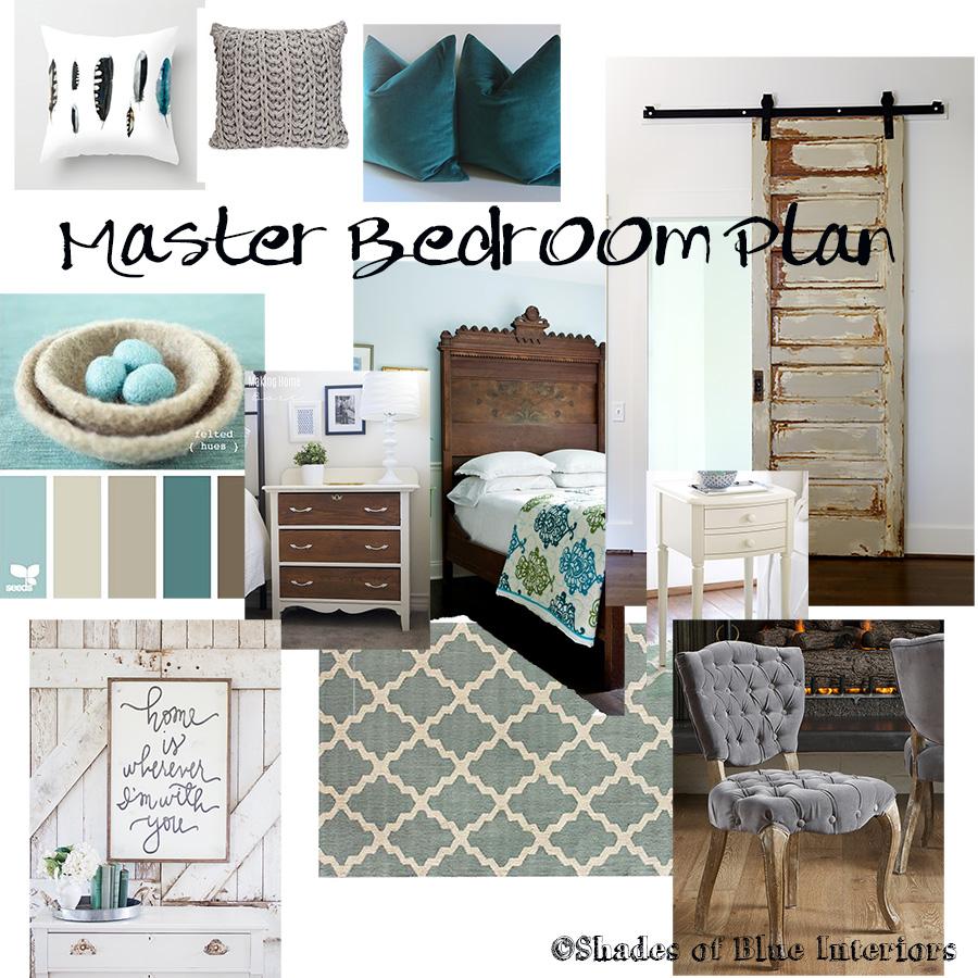 Master Bedroom Design Plan