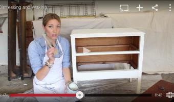 Video Tutorial: Waxing Furniture