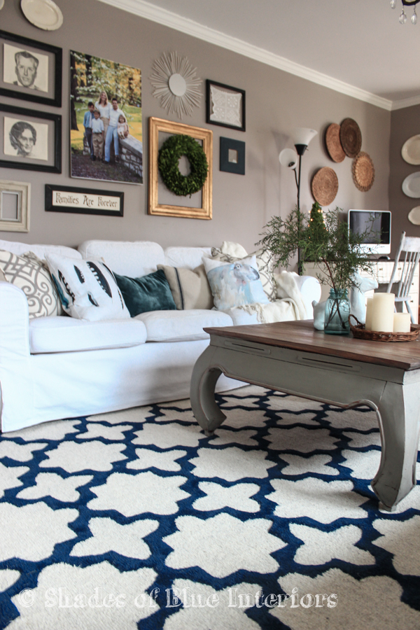 new living room rug! - shades of blue interiors Good Rugs for Living Room
