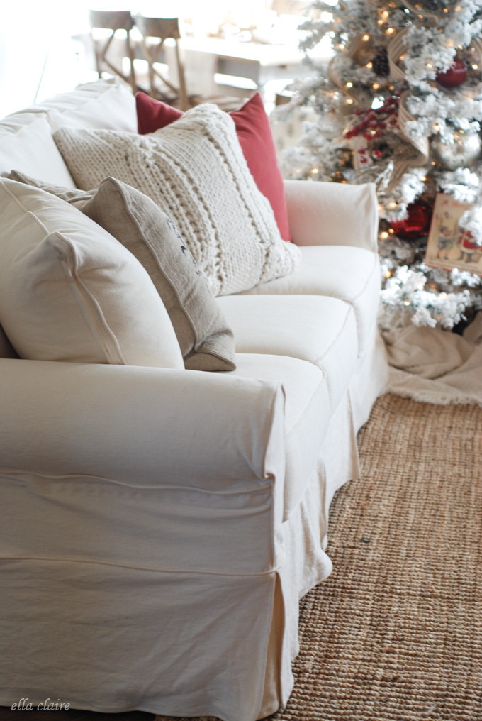 Why You Need A White Slipcovered Sofa