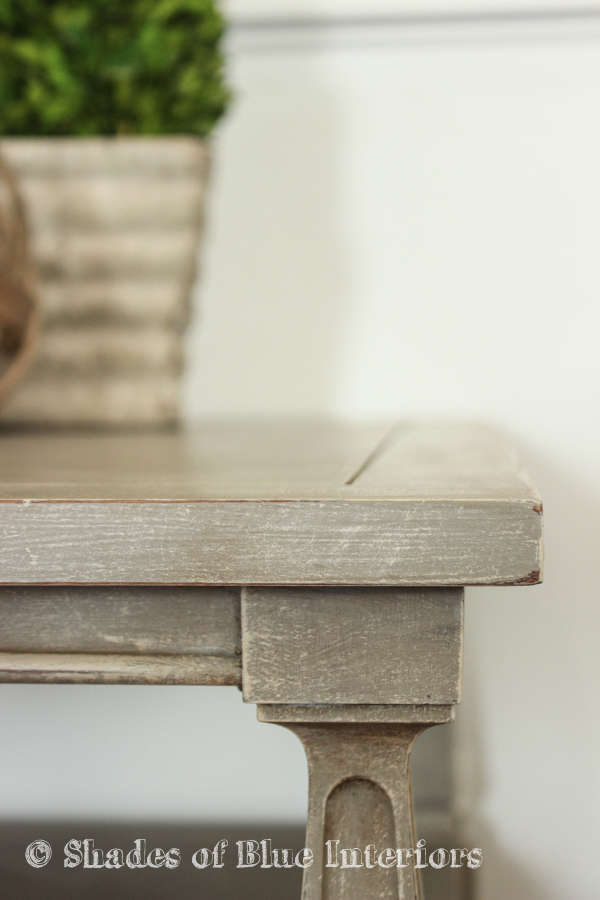 Makeover Monday Restoration Hardware Inspired End Table Shades of