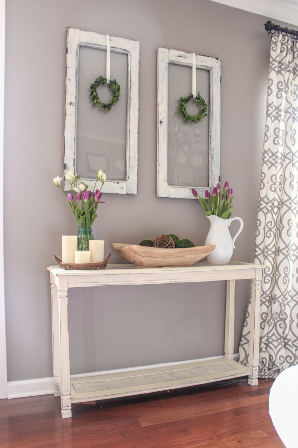 Doors Medium And Ideas: 9 Ways To Use A Boxwood Wreath + Tutorial