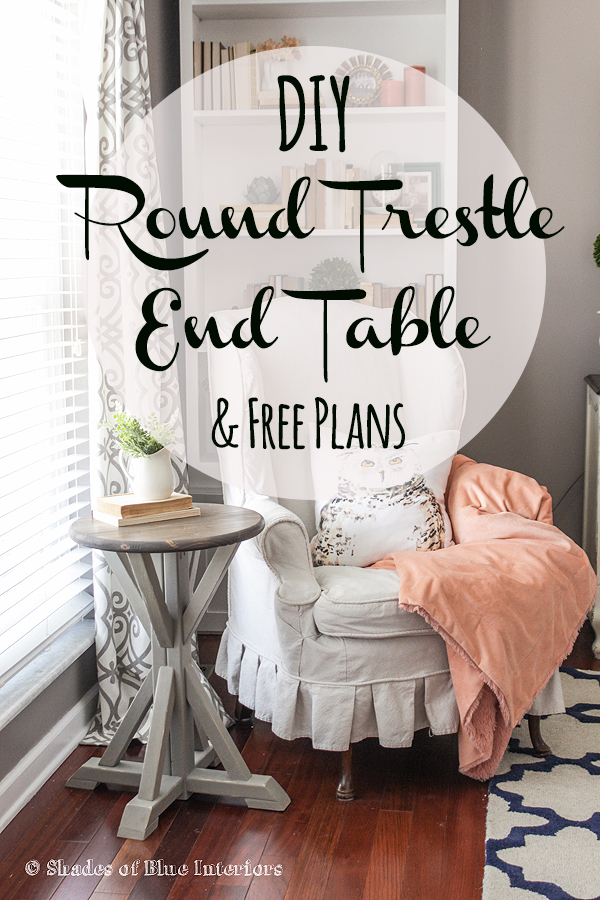 Round End Table Plans Free