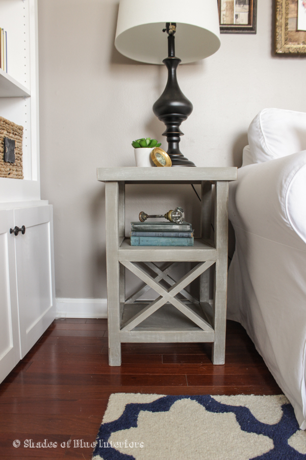 Makeover Monday Small X End Table Free Plans - How to build an end table