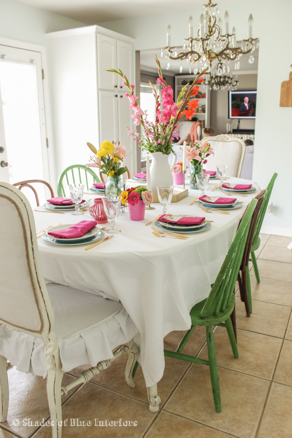 Birthday & Easter Tablescape-3