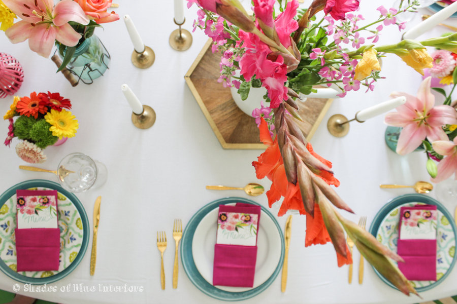 Birthday & Easter Tablescape-4
