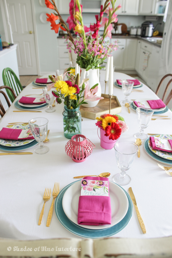 Birthday & Easter Tablescape-9