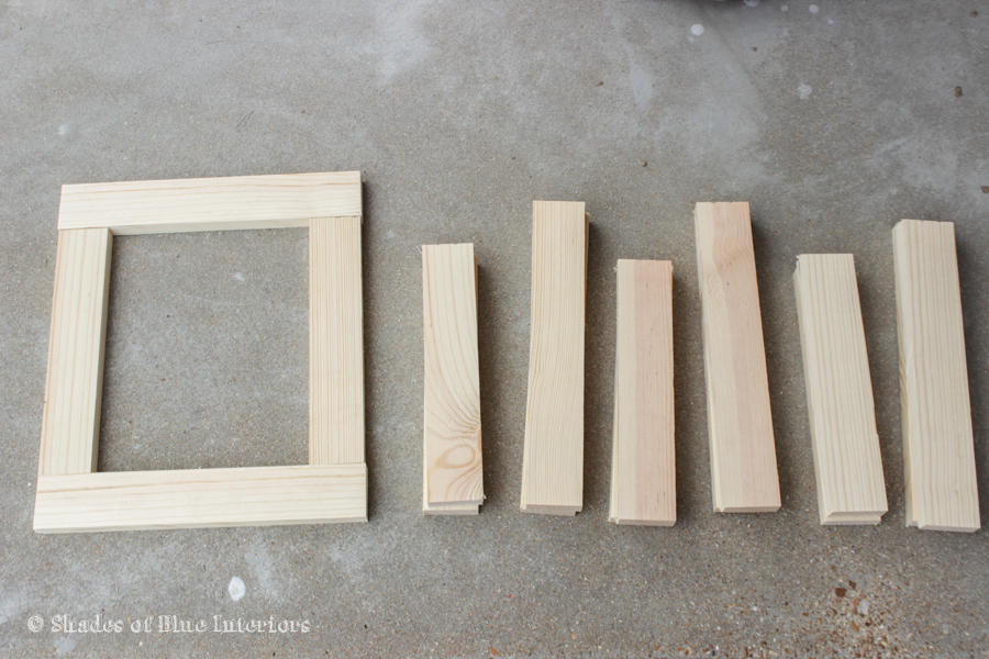 How to Build Picture Frames from Scrap Wood