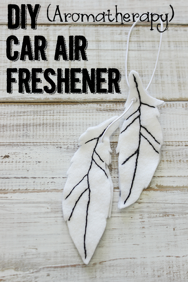 DIY Aromatherapy Car Air Freshener