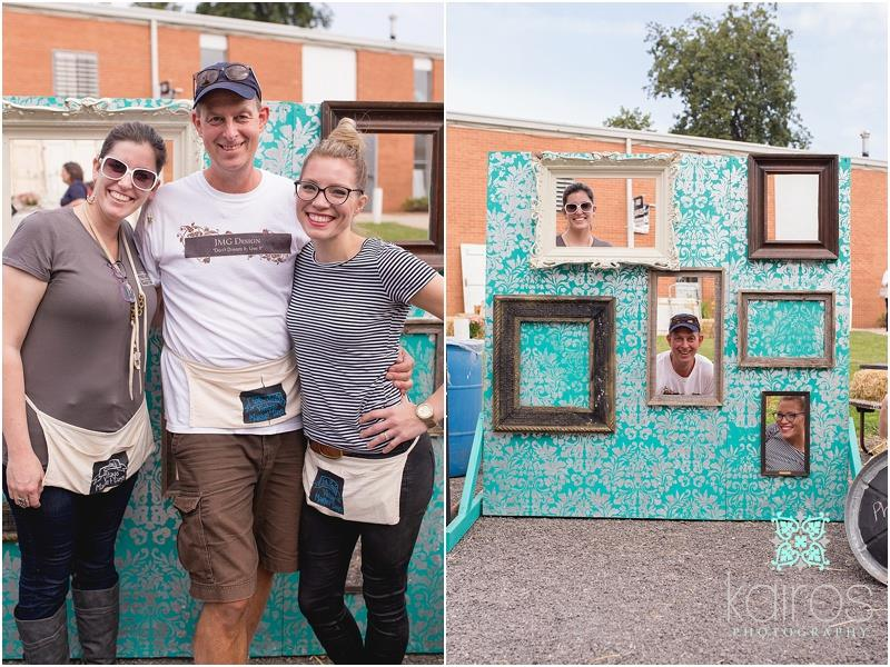 Nicole from Rescued Furnishings, John from JMG Design, and Rachel from Shades of Blue Interiors
