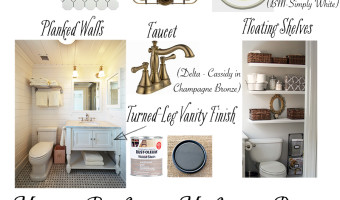 Master Bathroom Makeover Design