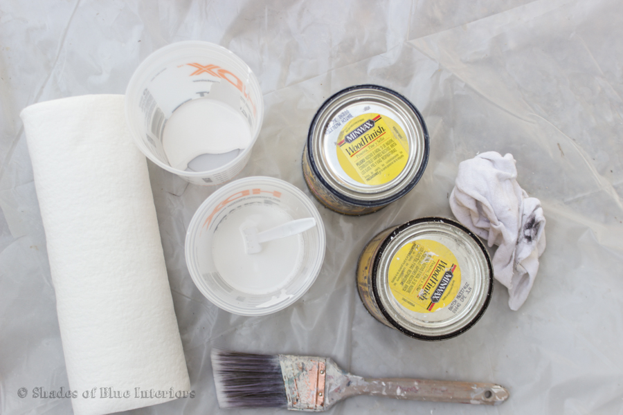 how to clean a paint brush with oil based stain