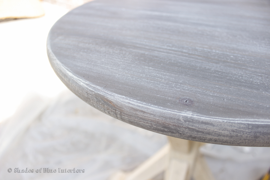 Restoration Hardware Layered Stain DIY Guest Post Shades Of Blue