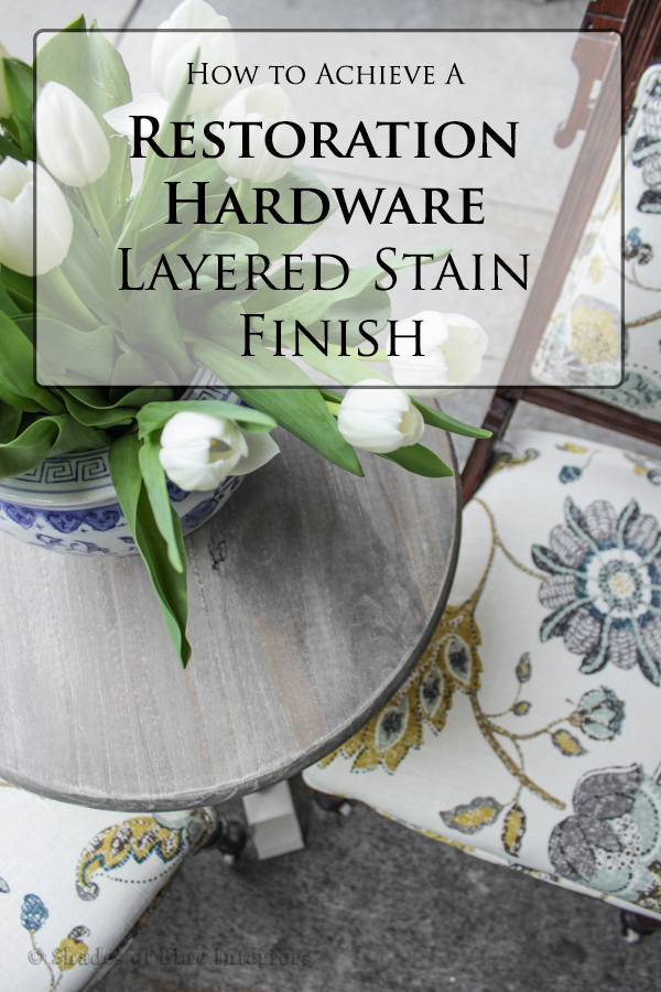 Restoration Hardware Layered Stain Diy Guest Post Shades