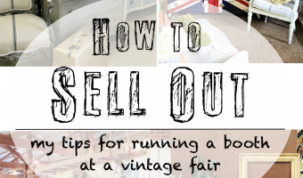 How to Sell Out: My Tips for Running a Booth