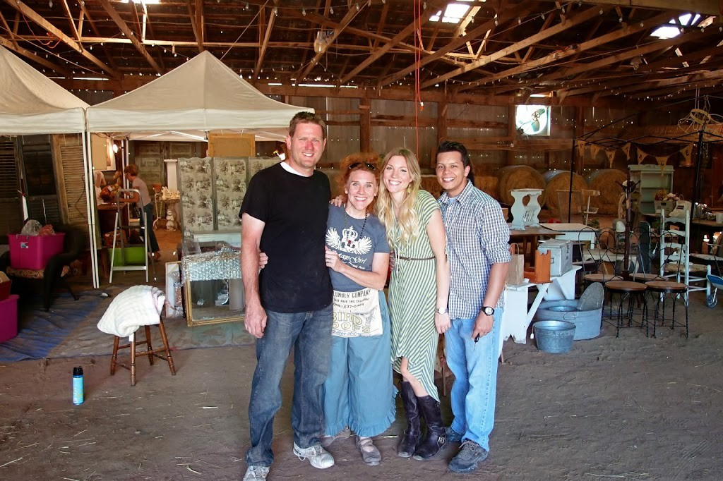 Todd and Chanda Hakanson, Rachel and Bruno with Shades of Blue Interiors