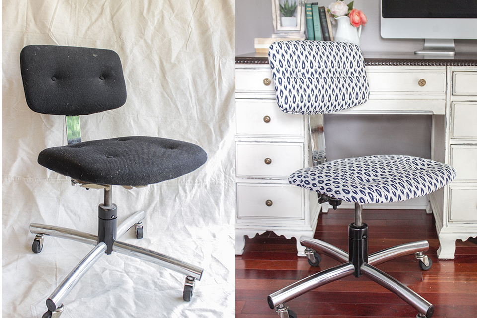 Office Chair Before After