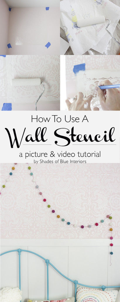 How to Use a Wall Stencil