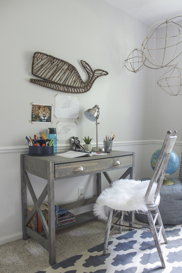 DIY X Frame Desk