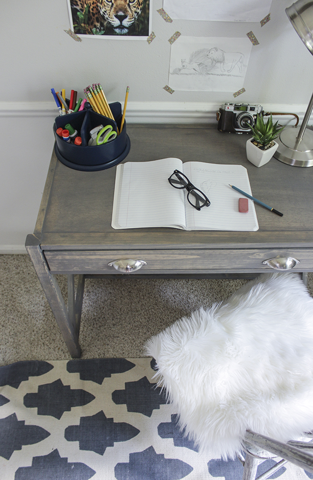 DIY X Frame Desk