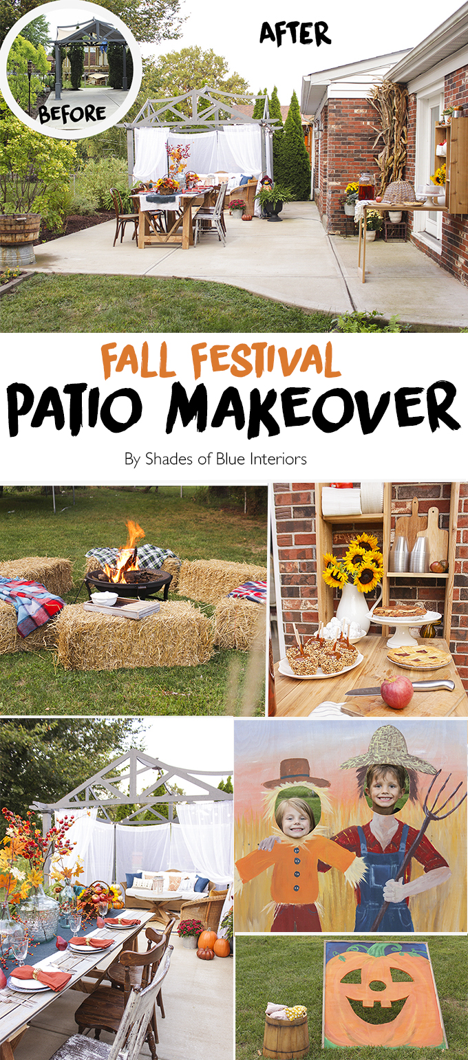 Fall Festival Patio Makeover