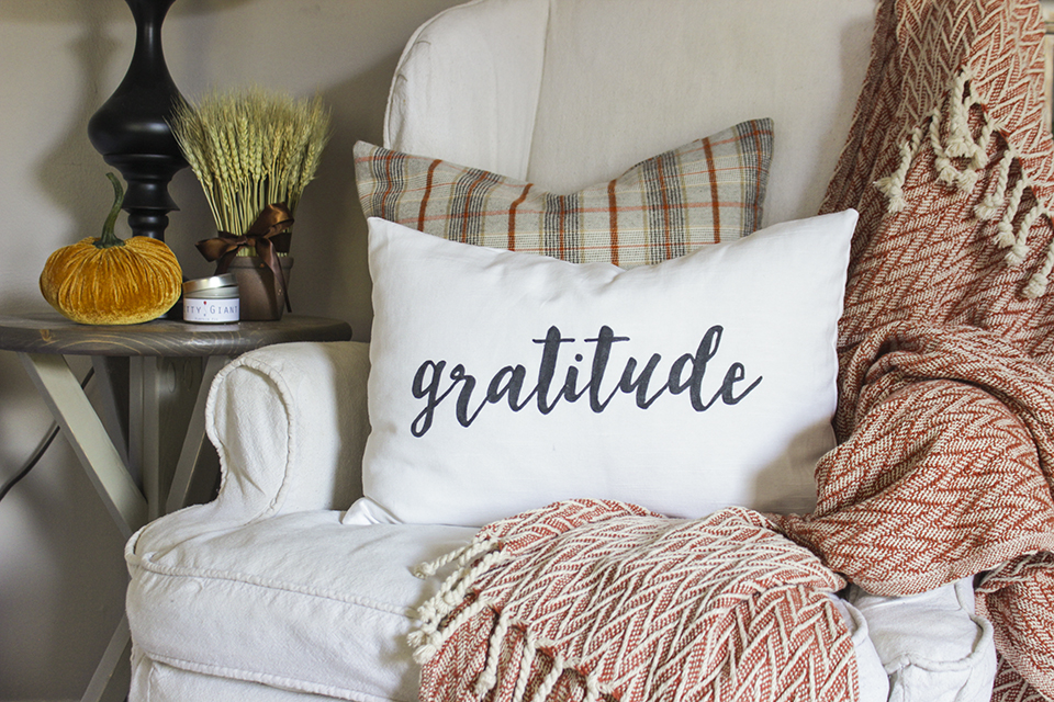 How to Make a Gratitude Pillow