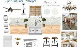 The Collected Kitchen – Farmhouse Style Design Plans