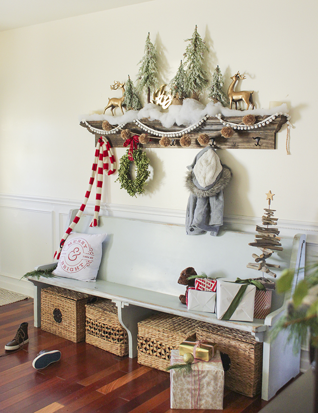 Mantel Vignette DIY Shelf Tutorial