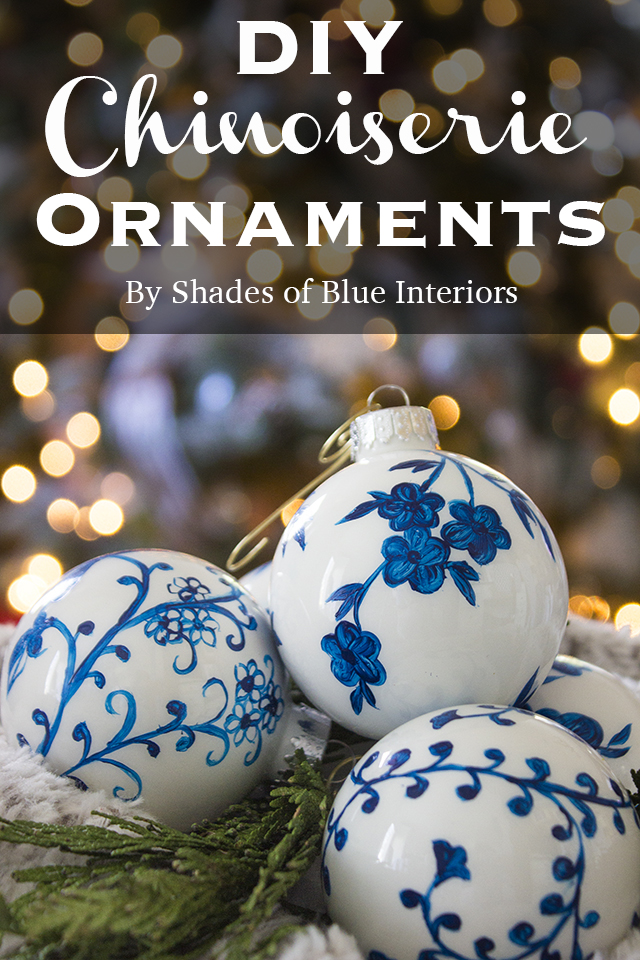 DIY Chinoiserie Ornaments