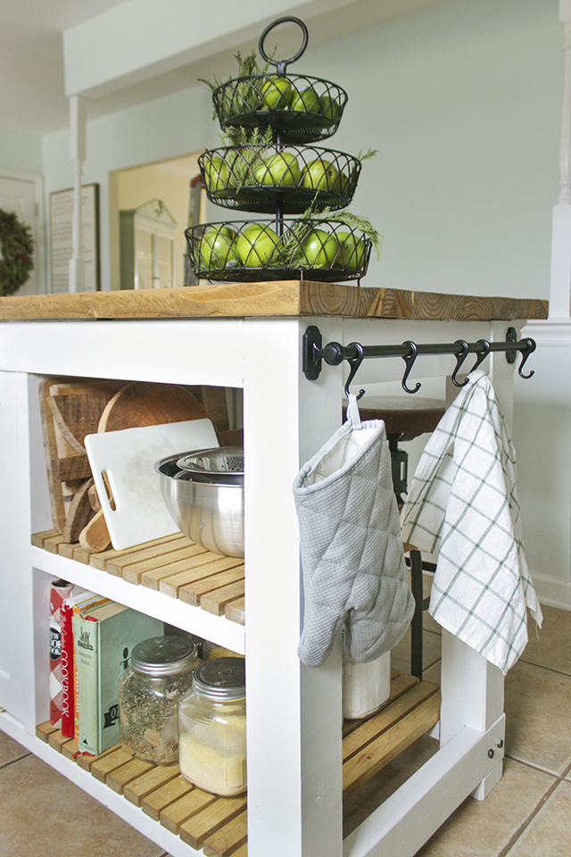 wonderful Kitchen Island With Trash Storage #5: DIY Kitchen Island