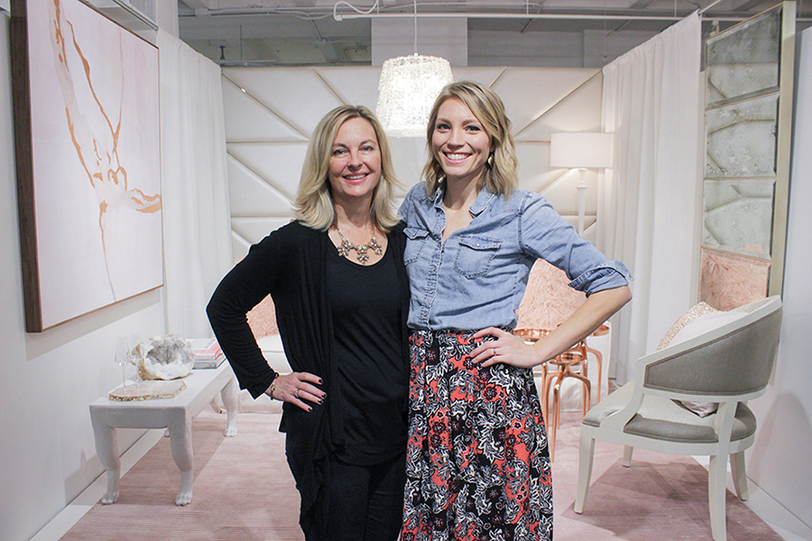 Rachel and Heather - AmericasMart 2016