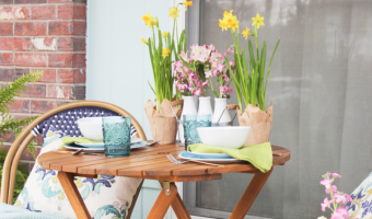 Spring Porch Refresh