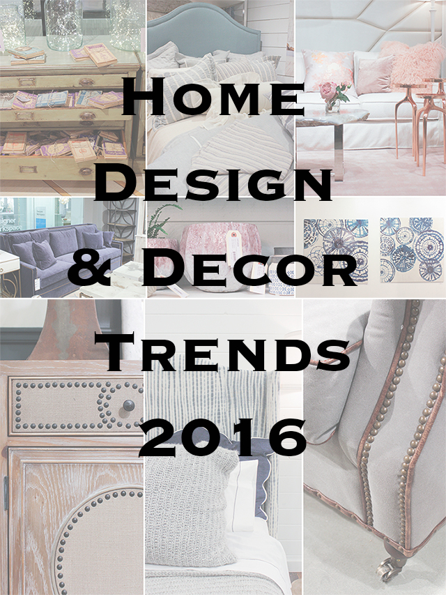 Top 5 Home Design and Decor Trends 2016