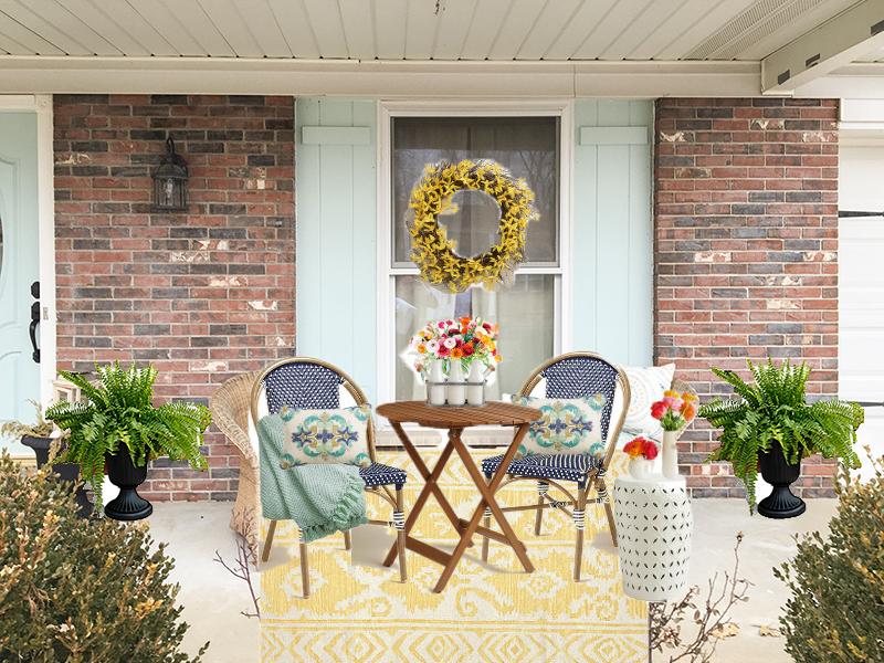 Photoshopped Porch Plan