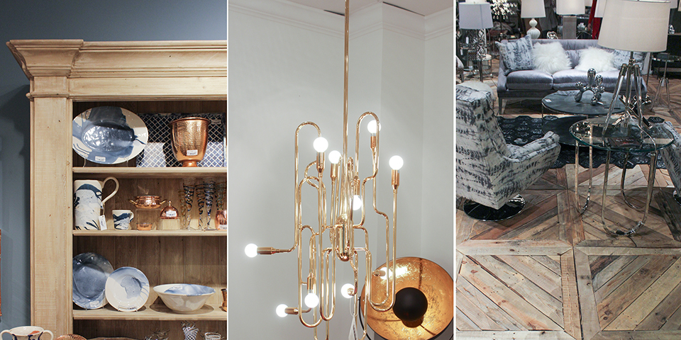 Matte and Flat Finishes + Metallics Design Trend 2016