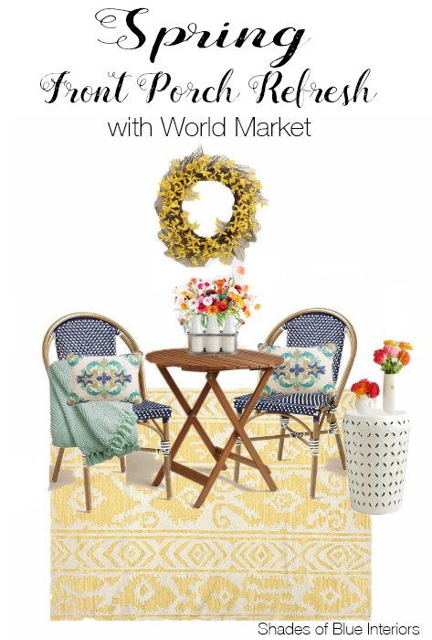World Market Spring Front Porch Design Plans