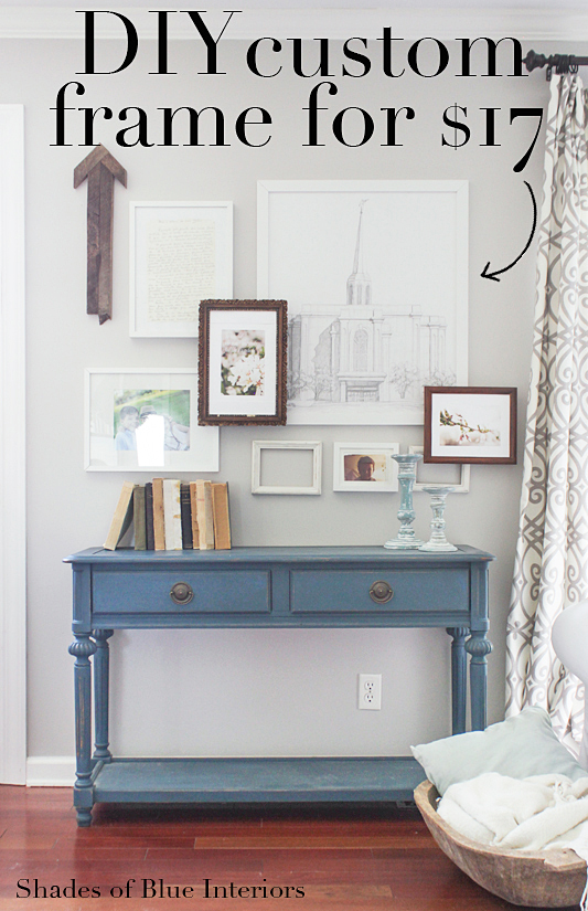 Cozy Spring Home Tour- Layered gallery wall