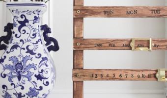 DIY Vintage Perpetual Calendar