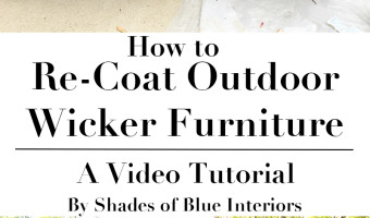 How to Re-Coat Wicker Furniture