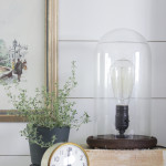 Industrial Cloche Lamp